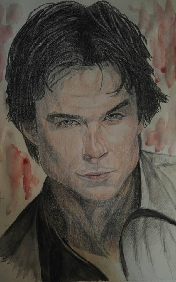 Ian Somerhalder by g1adina87